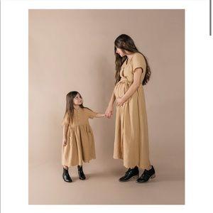 Rylee and Cru Esmee Dress Honey